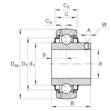 FAG Mancal tensor - GY1203-KRR-B-AS2/V