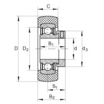 FAG Mancal tensor - RABRB15/47-XL-FA106
