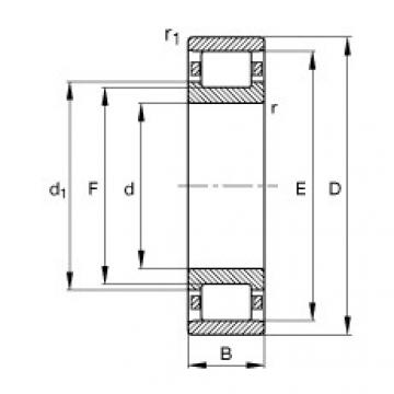 Rolamentos N330-E-M1 FAG