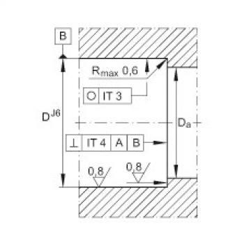 FAG Rolamento axial de agulhas e rolos cilíndricos - ZARF55145-L-TV