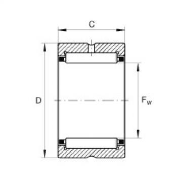 FAG Rolamento de agulhas - NCS3624