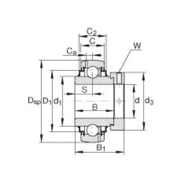 FAG Mancal tensor - G1203-KRR-B-AS2/V