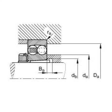 FAG Rolamento autocompensador de esferas - 1312-K-TVH-C3 + H312