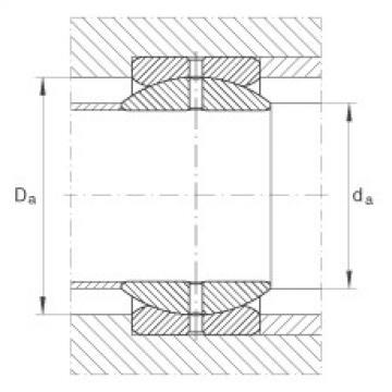 FAG Rótulas radiais - GE57-ZO