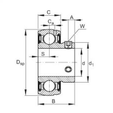 FAG Mancal tensor - SUB205