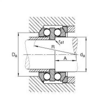 FAG Rolamento axial de esferas - 54314