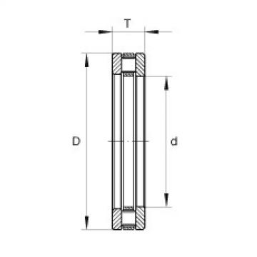 FAG Rolamento axial de rolos cilíndricos - RTL28