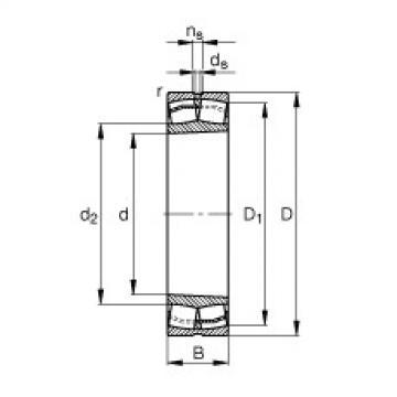 FAG Rolamento autocompensador de rolos - 23134-E1-XL-K-TVPB