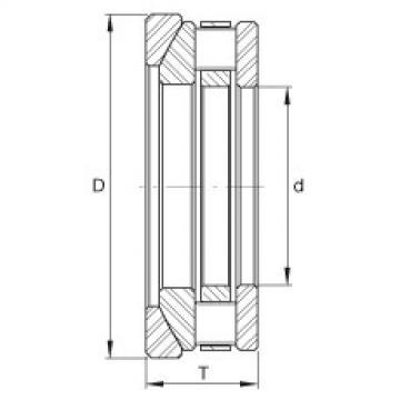 FAG Rolamento axial de rolos cilíndricos - RTW619
