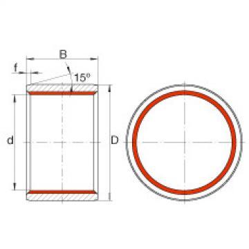 FAG Buchas deslizantes cilíndricas - ZGB60X70X60