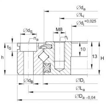 FAG Rolamento de rolos cruzados - XU060094