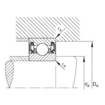 FAG Rolamento de esferas - 61812-2RZ-Y