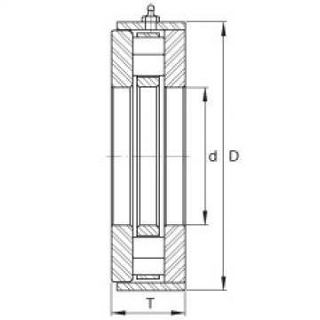 FAG Rolamento axial de rolos cilíndricos - RWCT19