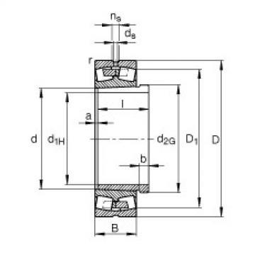 Rolando 23134-E1A-K-M + AH3134A FAG