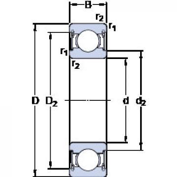 Rolamentos D/W R1810-2ZS SKF