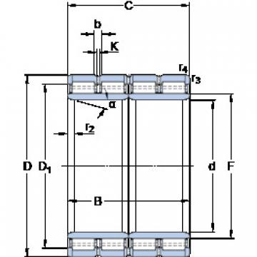 Rolamentos BC4-8021/HB1 SKF