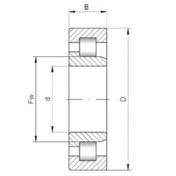 Rolamento NJ3306 ISO
