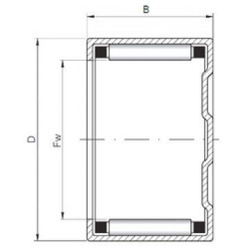 Rolamentos BK152316 ISO