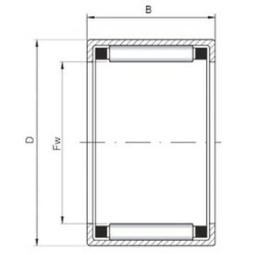 Rolamentos HK162109 ISO