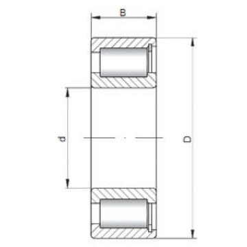 Rolamentos NCF2232 V ISO
