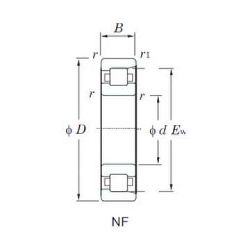 Rolamento NF421 KOYO
