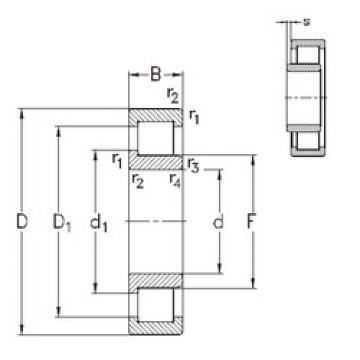Rolamento NJ324-E-MPA NKE