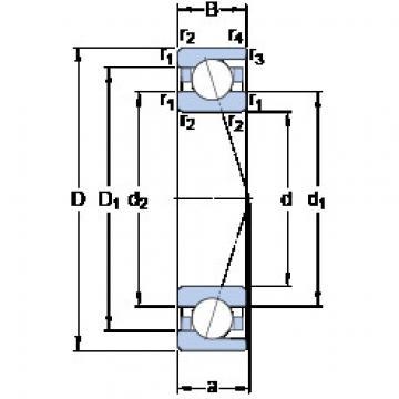 Rolando 7002 ACD/HCP4A SKF