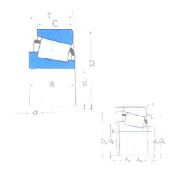 Rolando X32012X/Y32012X Timken