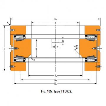 Bearing T10250F Thrust Race Single