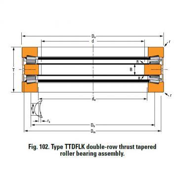 Bearing H21127C Thrust Race Single