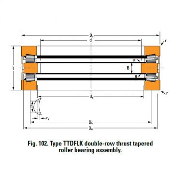 Bearing T9130 Thrust Race Single