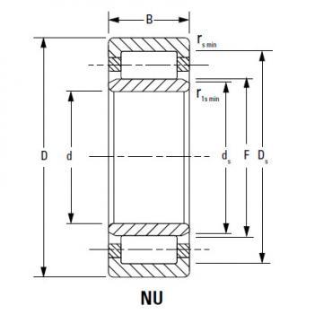 Bearing NU20/670EMA