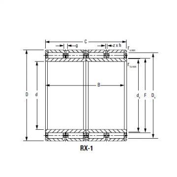 Bearing 500RX2345A RX-4