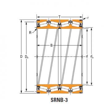 Rolamentos de rolo de rolo selado k168128 O-ring