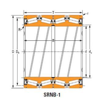 Rolamentos de rolo de rolo selado 1272 O-ring