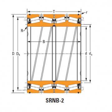 Rolamentos de rolo de rolo selado 614 O-ring
