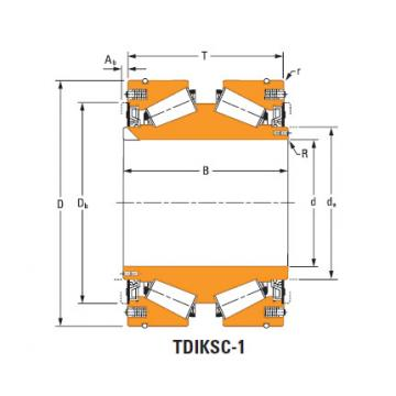 Rolamentos de rolos cônicos nP738398 nP869543