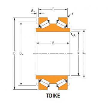 Rolamentos de rolos cônicos Hm252340dw Hm252315