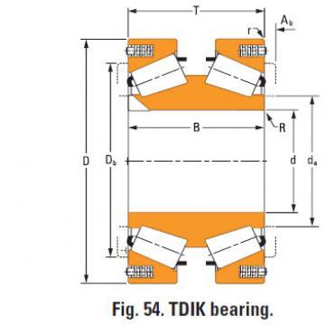 Rolamentos de rolos cônicos nP430670 nP786311