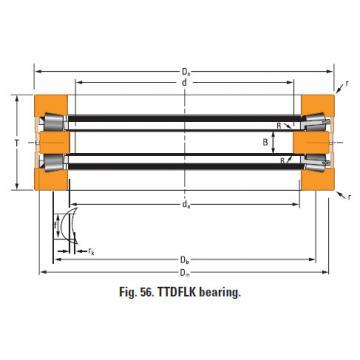 Bearing Thrust race single T8011f