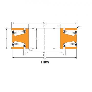 Bearing Thrust race double T10250dw