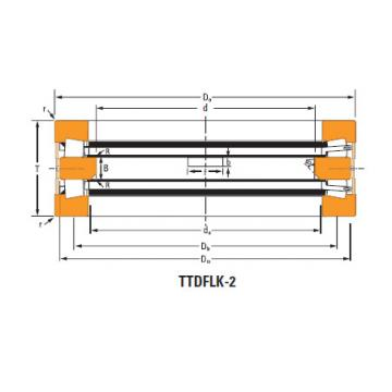 Bearing Thrust race single T17200
