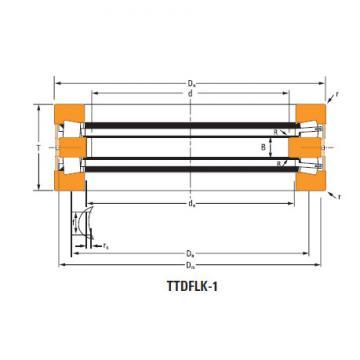 Bearing Thrust race single H-21120-c