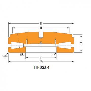 Sistemas de parafusos empurrar rolamentos cônicos T9250fs-T9250s