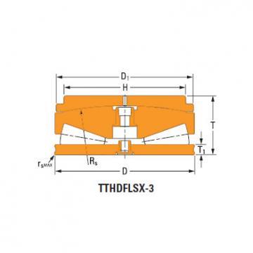 Sistemas de parafusos empurrar rolamentos cônicos 228TTsX950