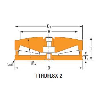 Sistemas de parafusos empurrar rolamentos cônicos B-6435-c