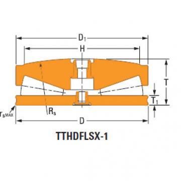 Sistemas de parafusos empurrar rolamentos cônicos 195TTsf938