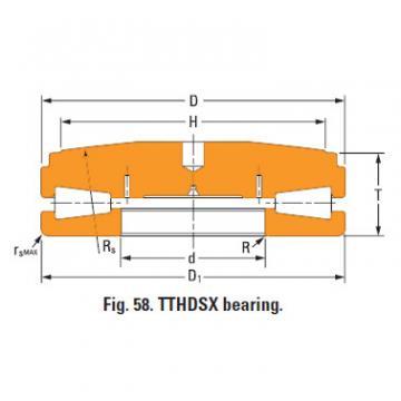 Sistemas de parafusos empurrar rolamentos cônicos T9030fsB-T9030sc