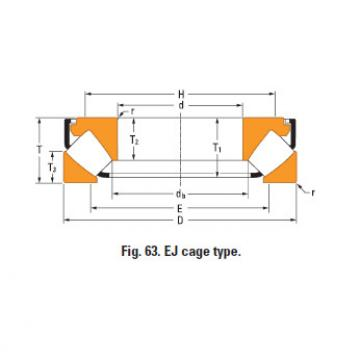 Rolamento de rolos esféricos de impulso 293/1000em