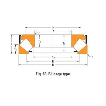Rolamento de rolos esféricos de impulso 29464em